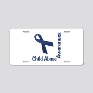 Child Abuse Awareness Aluminum License Plate